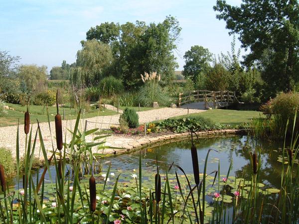 Visite virtuelle le parc des jardins aquatiques - Les jardins aquatiques saint didier sur chalaronne ...